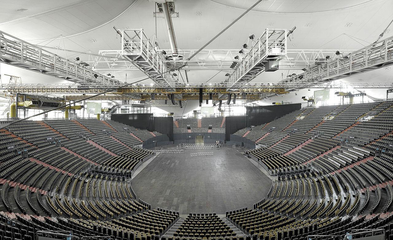 Olympiahalle münchen sitzplätze