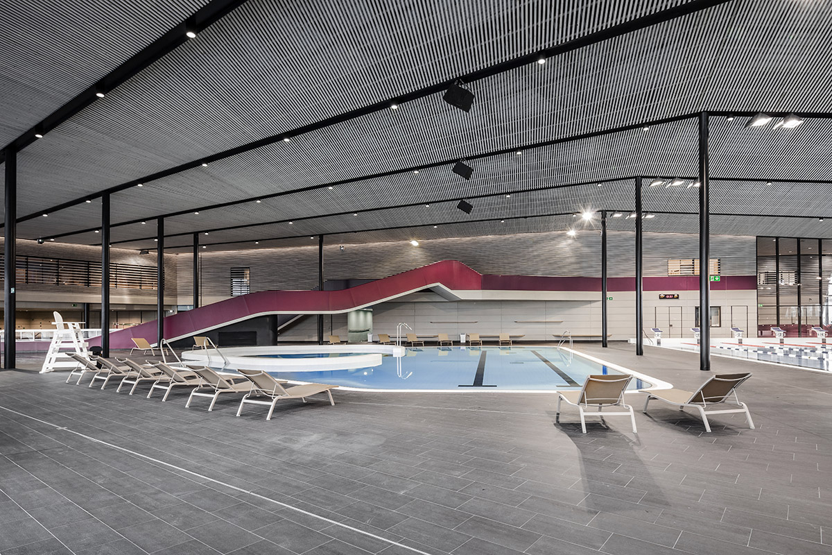 Projets freizeitbad sourc ane douai for Piscine sourceane