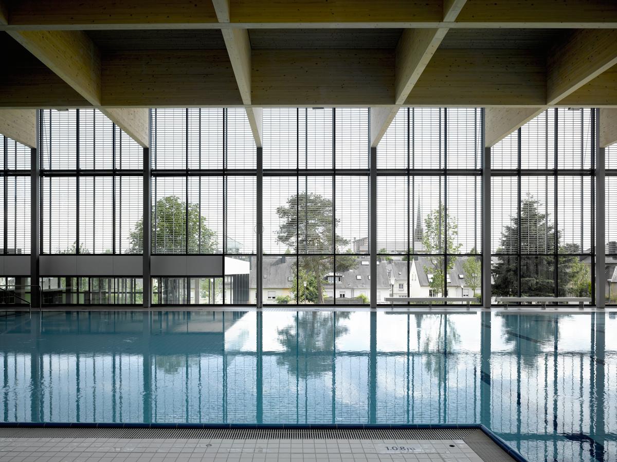 Architekten Luxemburg auer weber architekten bda projekte sportzentrum belair luxemburg