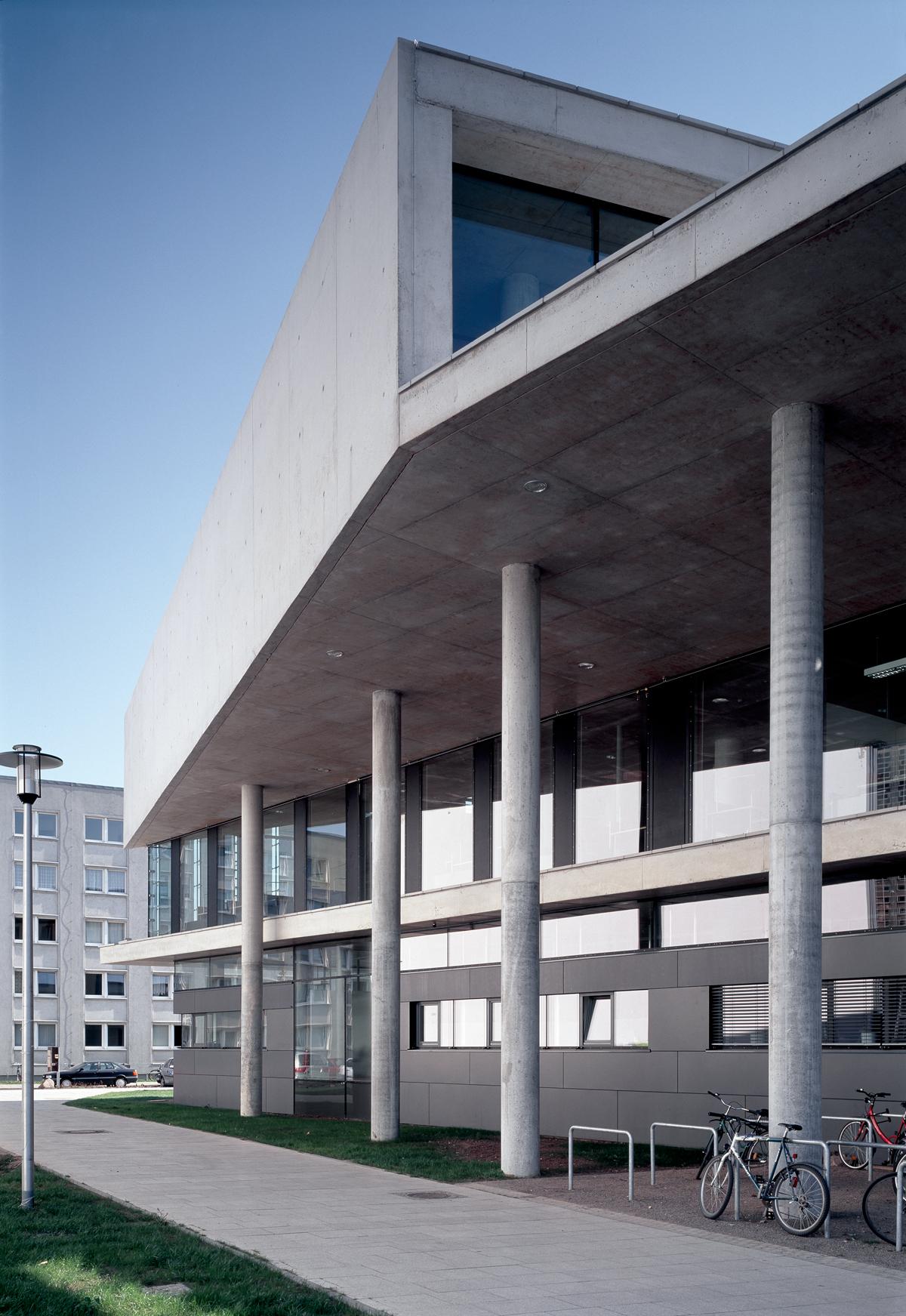 Magdeburg Architektur auer weber architekten bda projekte bibliothek der universität